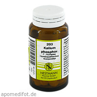 Kalium phosphor. F Komplex 203, 120 ST, Nestmann Pharma GmbH