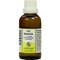 222 Ratanhia F Komplex, 50 ML, Nestmann Pharma GmbH