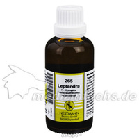 265 Leptandra F Komplex, 50 ML, Nestmann Pharma GmbH