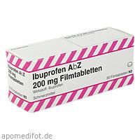 Ibuprofen AbZ 200 mg Filmtabletten, 50 ST, Abz Pharma GmbH