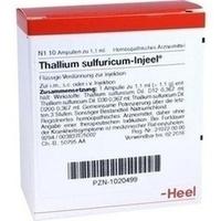 THALLIUM SULF INJ, 10 ST, Biologische Heilmittel Heel GmbH