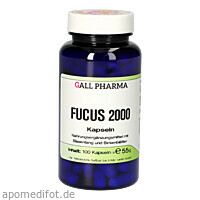 FUCUS 2000 Kapseln, 100 ST, Hecht-Pharma GmbH