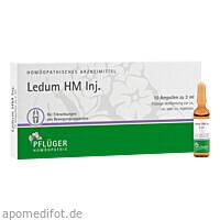 Ledum HM Inj., 10 ST, Homöopathisches Laboratorium Alexander Pflüger GmbH & Co. KG