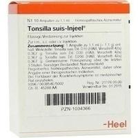 TONSILLA SUIS INJ ORG, 10 ST, Biologische Heilmittel Heel GmbH