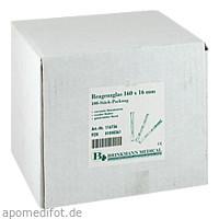 Reagenzglas 160x16mm, 100 ST, Brinkmann Medical Ein Unternehmen der Dr. Junghans Medical GmbH