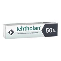 ICHTHOLAN 50%, 25 G, Ichthyol-Gesellschaft Cordes Hermanni & Co. (GmbH & Co.) KG