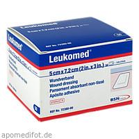 LEUKOMED STERILE PFLASTER 7.2x5 cm, 50 ST, Bsn Medical GmbH