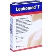 LEUKOMED TRANSP. STERILE PFLASTER 7.2x5 cm, 5 ST, Bsn Medical GmbH