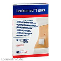 LEUKOMED TRANSP. PLUS STERILE PFL. 7.2x5 cm, 5 ST, Bsn Medical GmbH