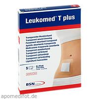 LEUKOMED TRANSP. PLUS STERILE PFL. 8x10 cm, 5 ST, Bsn Medical GmbH