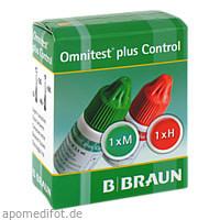 Omnitest plus Control Kontrolllösung, 2X3 ML, B. Braun Melsungen AG