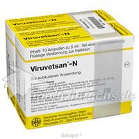 VIRUVETSAN N Injektionslösung vet., 2X10X5 ML, DHU-Arzneimittel GmbH & Co. KG
