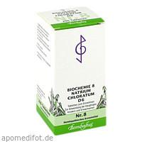 Biochemie 8 Natrium chloratum D 6, 200 ST, Bombastus-Werke AG