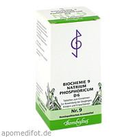 Biochemie 9 Natrium phosphoricum D 6, 200 ST, Bombastus-Werke AG