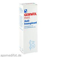 GEHWOL med Antitranspirant, 125 ML, Eduard Gerlach GmbH
