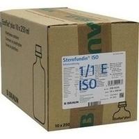 Sterofundin ISO Ecoflac Plus, 10X250 ML, B. Braun Melsungen AG