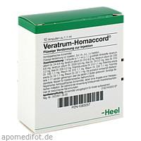 VERATRUM HOMACCORD, 10 ST, Biologische Heilmittel Heel GmbH