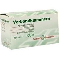 VERBANDKLAMMERN HAUT, 100 ST, Lohmann & Rauscher GmbH & Co. KG