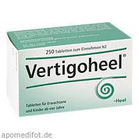 VERTIGOHEEL, 250 ST, Biologische Heilmittel Heel GmbH