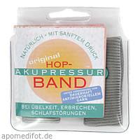 AKUPRESSUR BAND f Erw.hellgrau VON HOP, 2 ST, Helixor Heilmittel GmbH