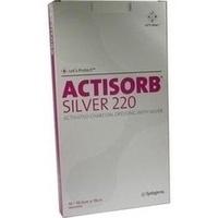 ACTISORB 220 Silver 19.0x10.5cm steril, 10 ST, Kci Medizinprodukte GmbH