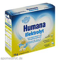 Humana Elektrolyt Banane Pulver, 75 G, Humana Vertriebs GmbH
