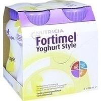 Fortimel Yoghurt Style Vanille-Zitronegeschmack, 4X200 ML, Nutricia Milupa GmbH