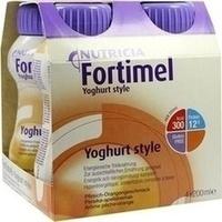 Fortimel Yoghurt Style Pfirsich-Orangegeschmack, 4X200 ML, Nutricia Milupa GmbH