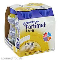 Fortimel Energy Bananengeschmack, 4X200 ML, Nutricia Milupa GmbH