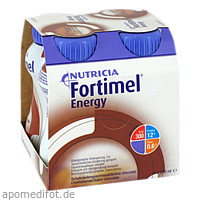 Fortimel Energy Schokoladengeschmack, 4X200 ML, Nutricia Milupa GmbH