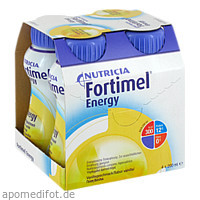 Fortimel Energy Vanillegeschmack, 4X200 ML, Nutricia Milupa GmbH