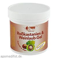 Rosskastanien+Weinlaub Gel, 250 ML, Axisis GmbH