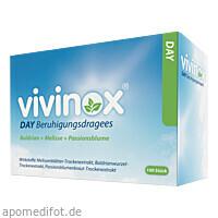 Vivinox Day Beruhig.drag.m.Bald.Melisse+Passionsbl, 100 ST, Dr. Gerhard Mann