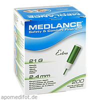 MEDLANCE PLUS Extra Sicherheitslanzetten 21G, 200 ST, Eu-Medical GmbH