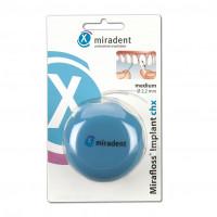 miradent-Mirafloss Implant chx medium, 50X15 CM, Hager Pharma GmbH