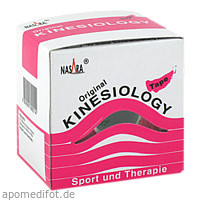 Nasara Kinesiotape 5cmx5m pink, 1 ST, Mikros GmbH