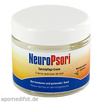 NeuroPsori Pflegecreme, 100 ML, Naturprodukte Schwarz