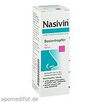 NASIVIN o.Kons.Dosiertropfer Baby, 5 ML, Merck Selbstmedikation GmbH