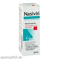 NASIVIN o.Kons.Dosierspray f.Erwachs./Schulkinder, 10 ML, Merck Selbstmedikation GmbH