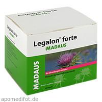 Legalon forte Kapseln, 180 ST, Meda Pharma GmbH & Co. KG
