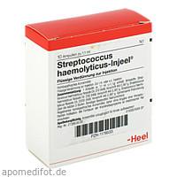 STREPTOCOCCUS HA INJ NOS, 10 ST, Biologische Heilmittel Heel GmbH