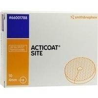 ACTICOAT SITE 2.5cm Scheibe mit 4mm Loch, 10 ST, Smith & Nephew GmbH