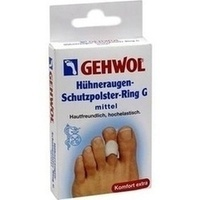 GEHWOL Hühneraugen-Schutzpolster-Ring G mittel, 3 ST, Eduard Gerlach GmbH