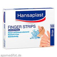 Hansaplast Universal Water Resist.120x20mm Strips, 100 ST, Beiersdorf AG
