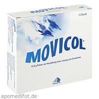 Movicol Beutel, 10 ST, Norgine GmbH