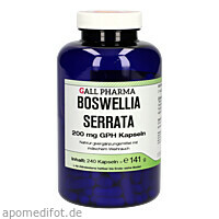 Boswellia serrata 200mg indischer Weihrauch, 240 ST, Hecht-Pharma GmbH