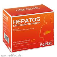 HEPATOS Mariendisteldragees, 300 ST, Hevert Arzneimittel GmbH & Co. KG