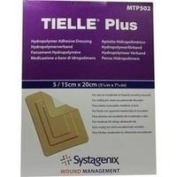 TIELLE Plus 15cmx20cm steril, 5 ST, Kci Medizinprodukte GmbH