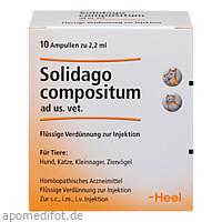 SOLIDAGO COMPOSITUM ad us.vet.Ampullen, 10 ST, Biologische Heilmittel Heel GmbH