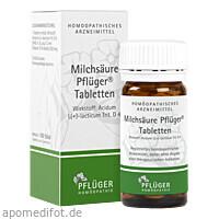 Milchsäure Pflüger Tabletten, 100 ST, Homöopathisches Laboratorium Alexander Pflüger GmbH & Co. KG